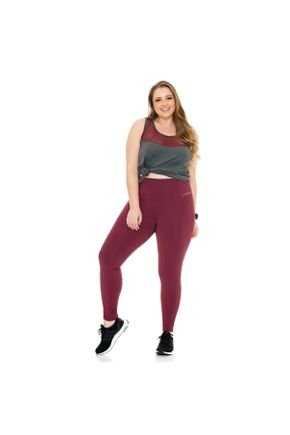 legging e regata fitness plus size